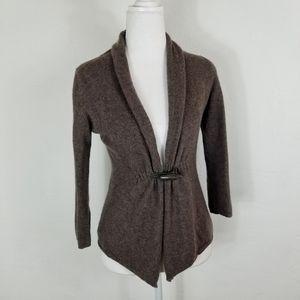 Fenn Wright Manson brown cashmere sweater XS